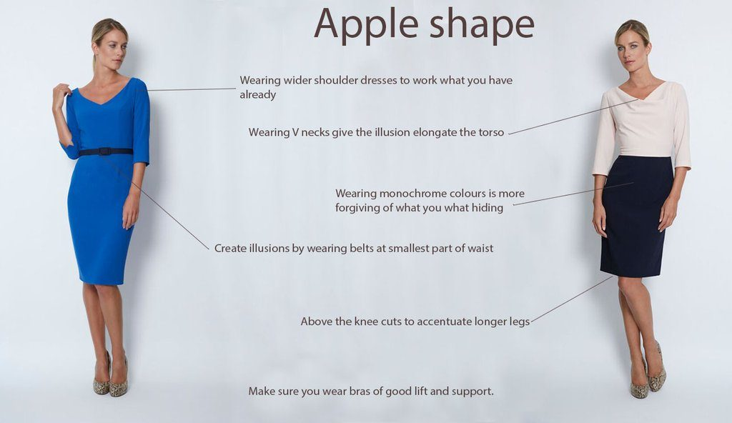 Apple Body Shape Dress