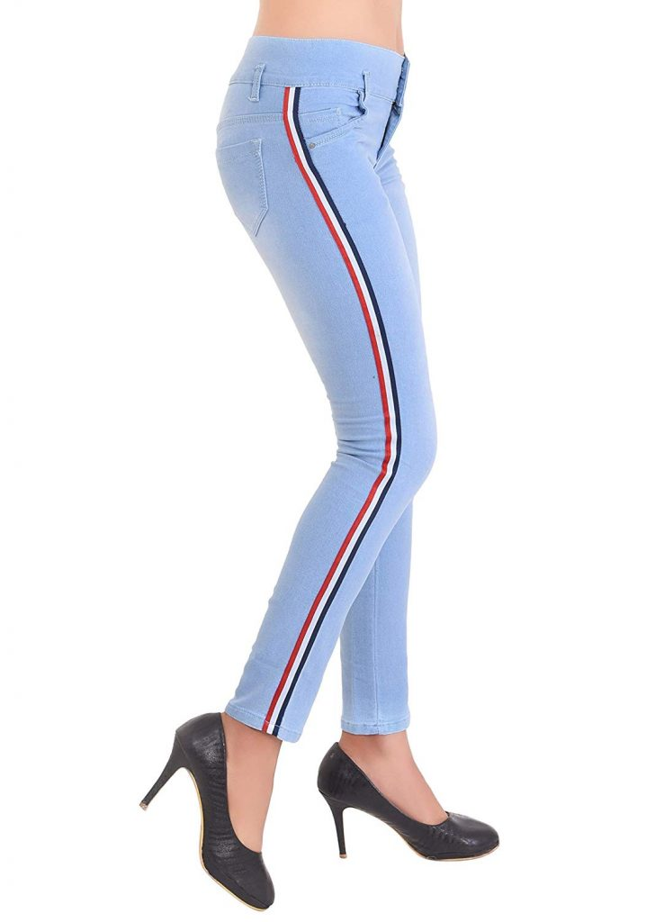 College Going Women Cotton Skinny Fit Jeans