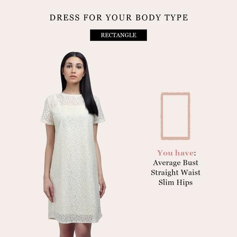 Rectangular Body Shape Dress Ideas