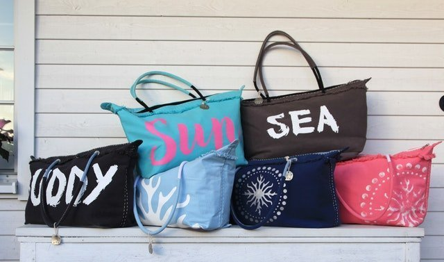 Tote Bag for College Girls