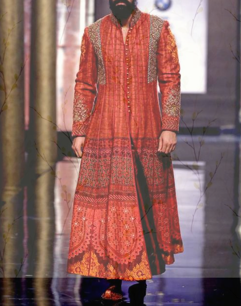 Anarkali Sherwani for Men for Marriage
