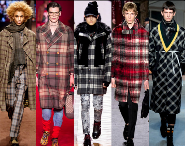 Checked Print fashion for Winter