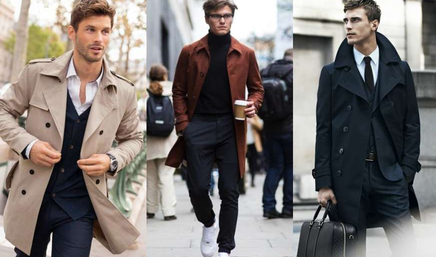 Overcoat for men fashion