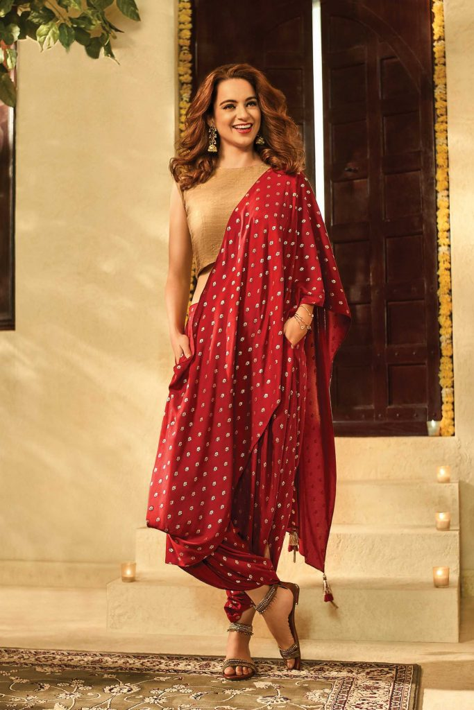 dhoti saree draping style global desi