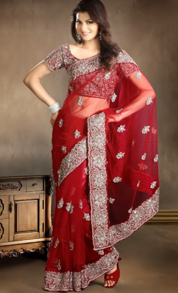Net Saree Design