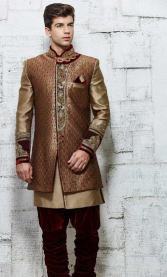 Sherwani with jacket