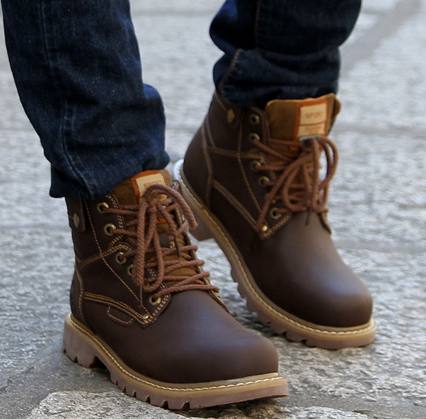 Winter Boots Men's Fashion accessory
