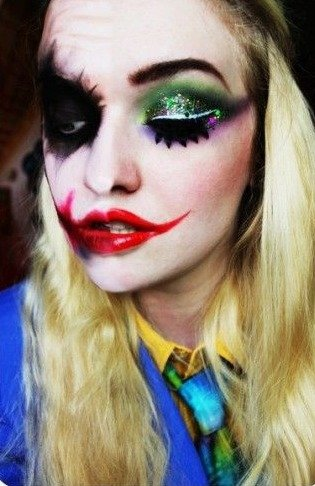 The Joker Makeup for Halloween