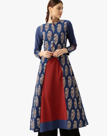 Jaipur Kurti with jacket
