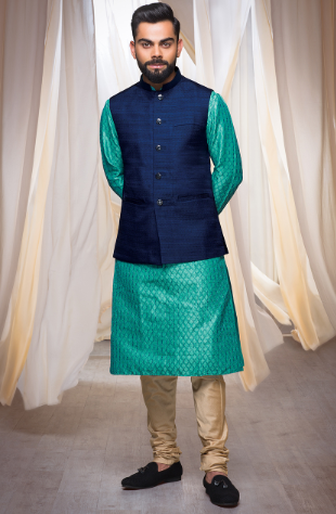 Kurta with Bandagala Jacket