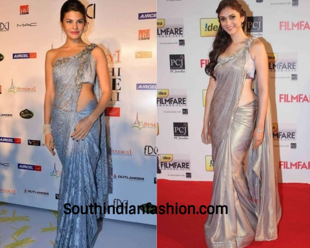Twisted Saree Drape