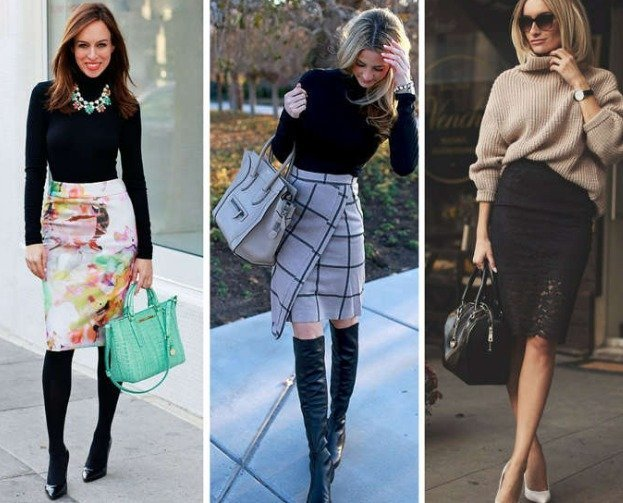 Pencil Skirt to wear in winter