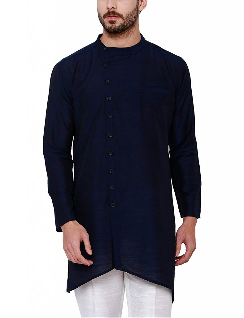 Belnded Indo western ethnic outfit for groom