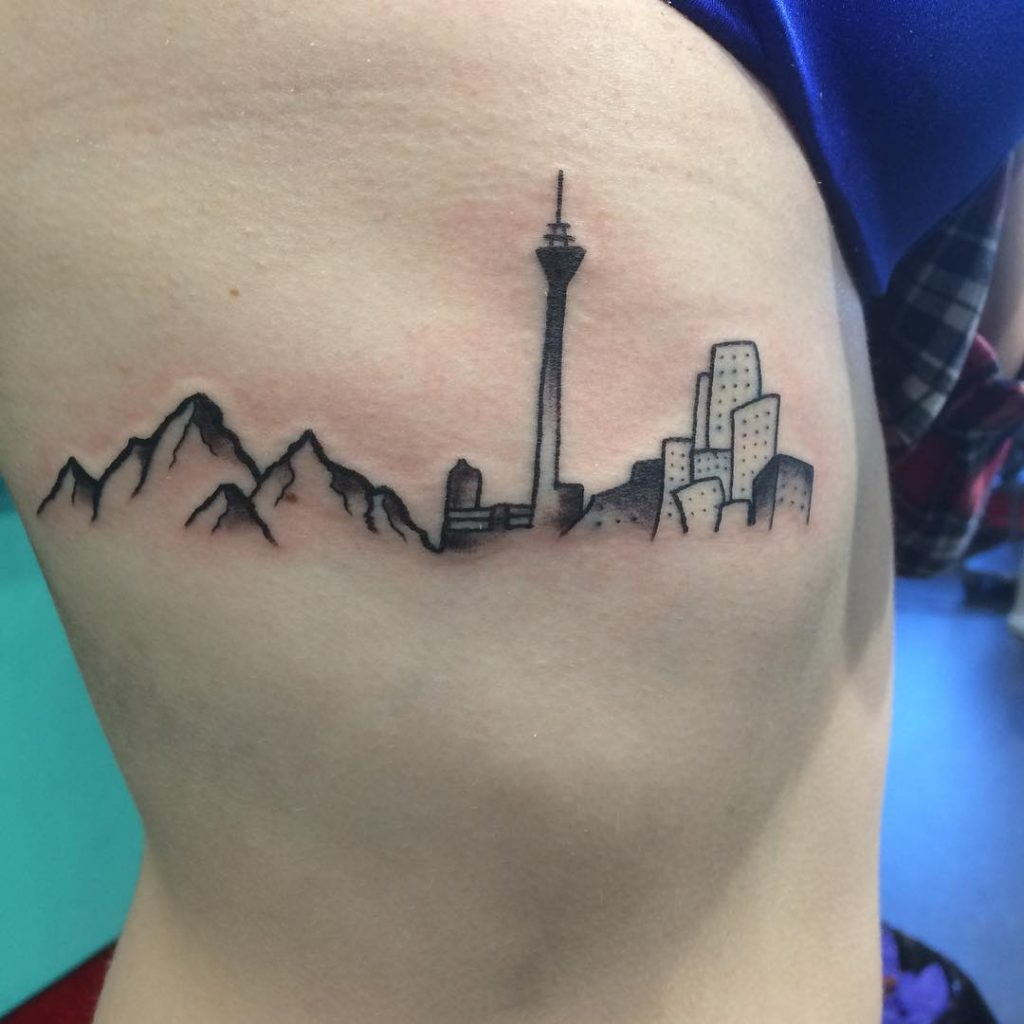 City Skyline Tattoo