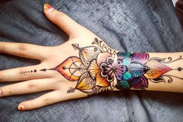 Bridal mehndi designs for hands