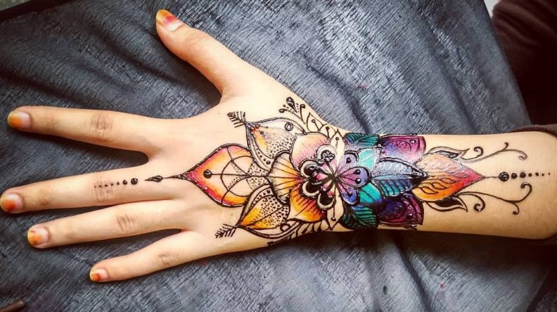 Bridal Mehndi Designs for Hands, 15 Simple Patterns