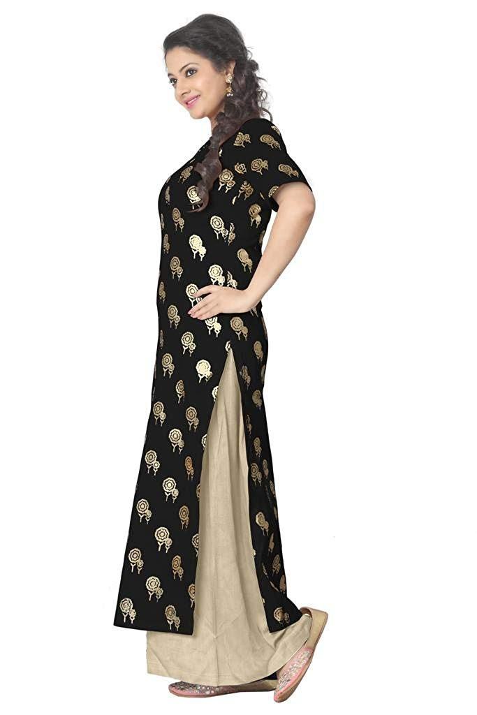 Palazzo Suits for durga pooja black