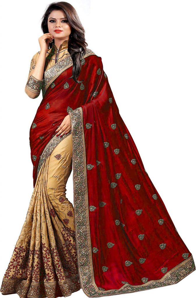 Saree for durga puja