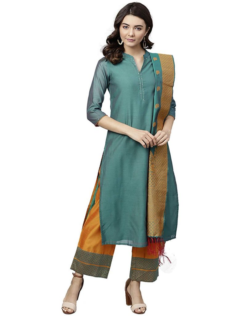jaipuri kurti for durga pooja festival fashion